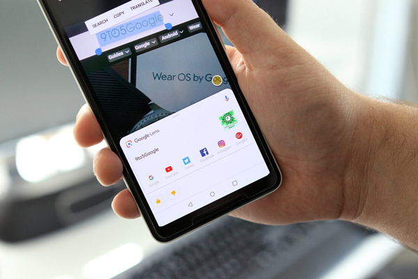 """Người dùng Android đã có thể """"search"""" chữ trong ảnh"""