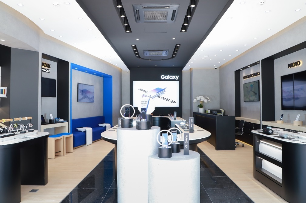 Samsung,SES,Samsung Experience Store