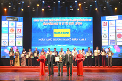 Nam A Bank nhận cú đúp Top 20 Sản phẩm dịch vụ chất lượng tốt 2019