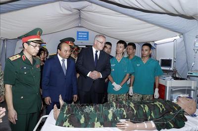 Australia tiếp tục hỗ trợ Việt Nam triển khai lực lượng gìn giữ hòa bình LHQ
