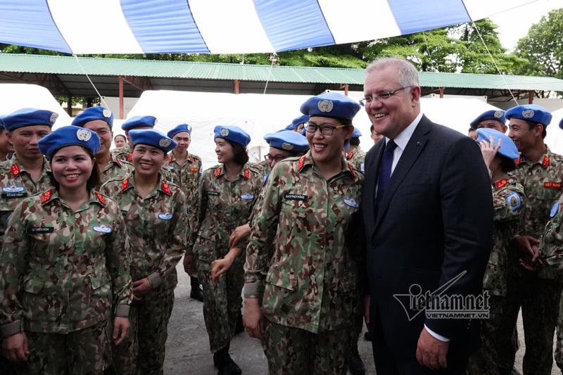 Australia,chủ quyền,gìn giữ hòa bình