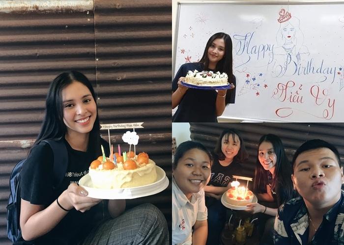 Hoa hậu Tiểu Vy giản dị, rạng rỡ đón sinh nhật bên bạn bè