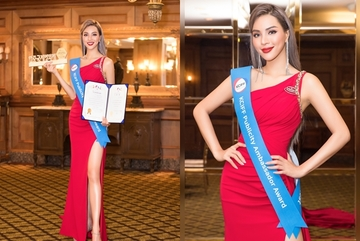 Siêu mẫu Khả Trang làm đại sứ Liên hoan phim Hàn - Trung