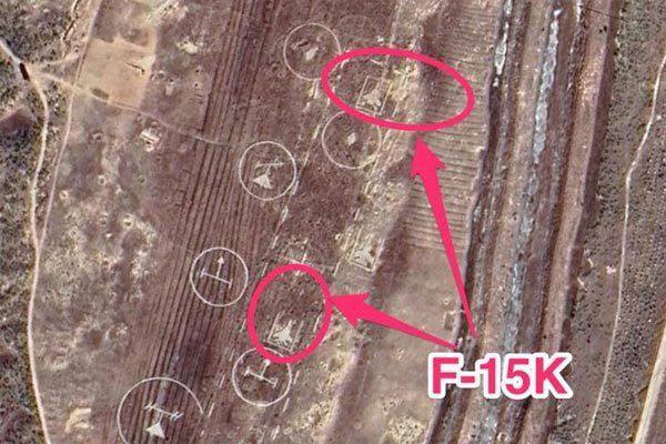 Triều Tiên bị tố dựng mô hình tiêm kích F-15 của Hàn để tập ném bom