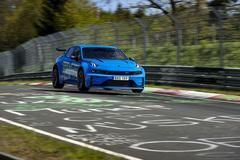 Ô tô Trung Quốc phá kỷ lục trên đường đua tốc độ ở Đức