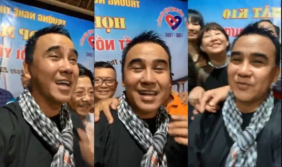 Quyền Linh rơi nước mắt khi gặp lại bạn cũ sau 33 năm