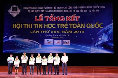 Hội thi Tin học trẻ toàn quốc, sân chơi bổ ích cho thanh thiếu niên