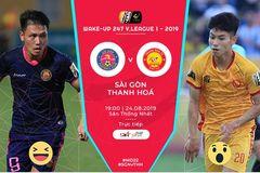 Sài Gòn 0-0 Thanh Hóa: Tháo chạy khỏi vùng nguy hiểm (H1)