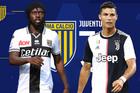 Trực tiếp Parma vs Juventus: Ronaldo đá chính, De Ligt dự bị