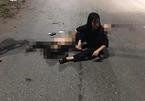 Xe máy kẹp 5 lao vào dải phân cách ở Thái Nguyên, 4 người chết