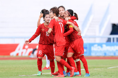 Hạ Philippines, tuyển nữ Việt Nam gặp Thái Lan ở chung kết