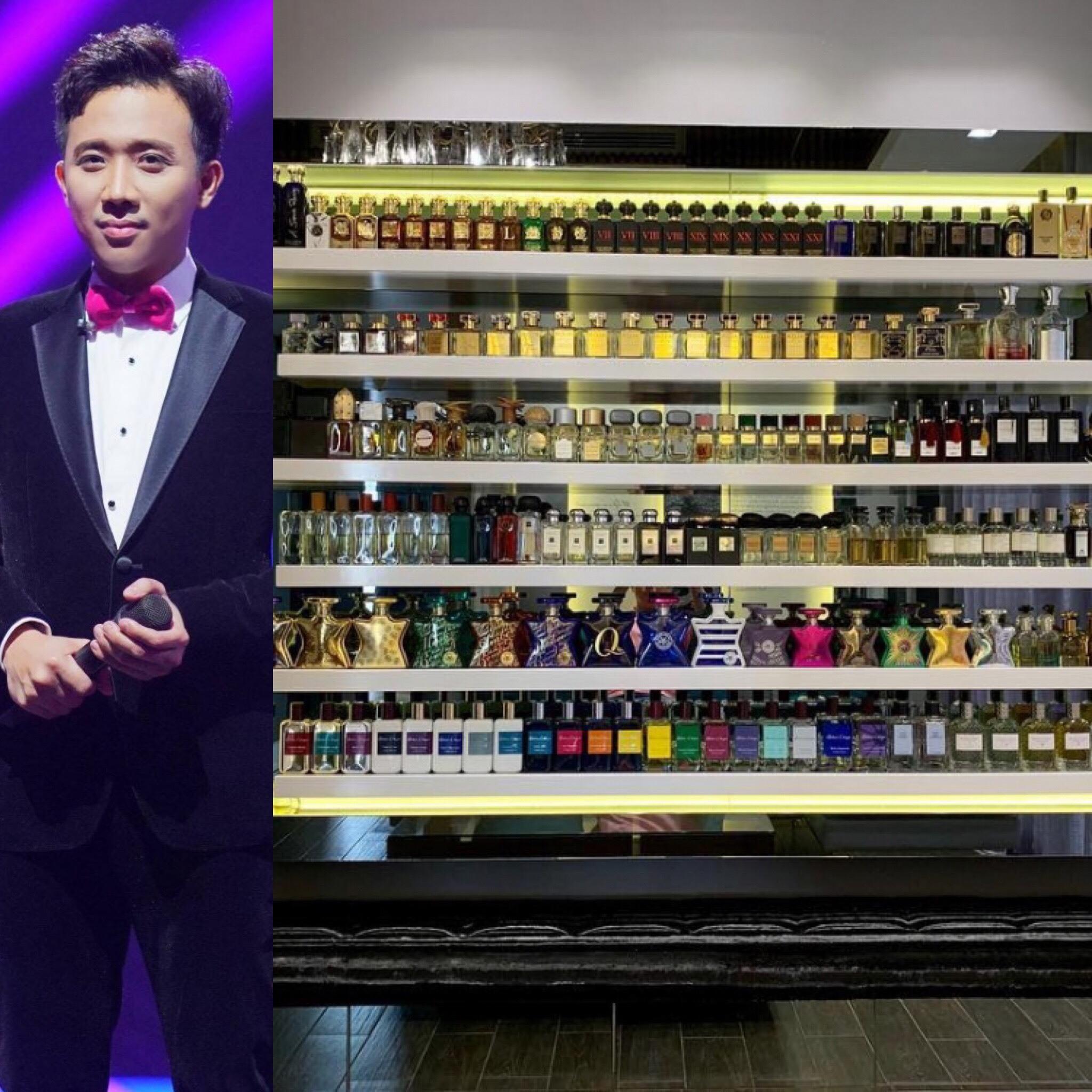 Tủ đồ xa xỉ như 'siêu thị hàng hiệu' của sao Việt