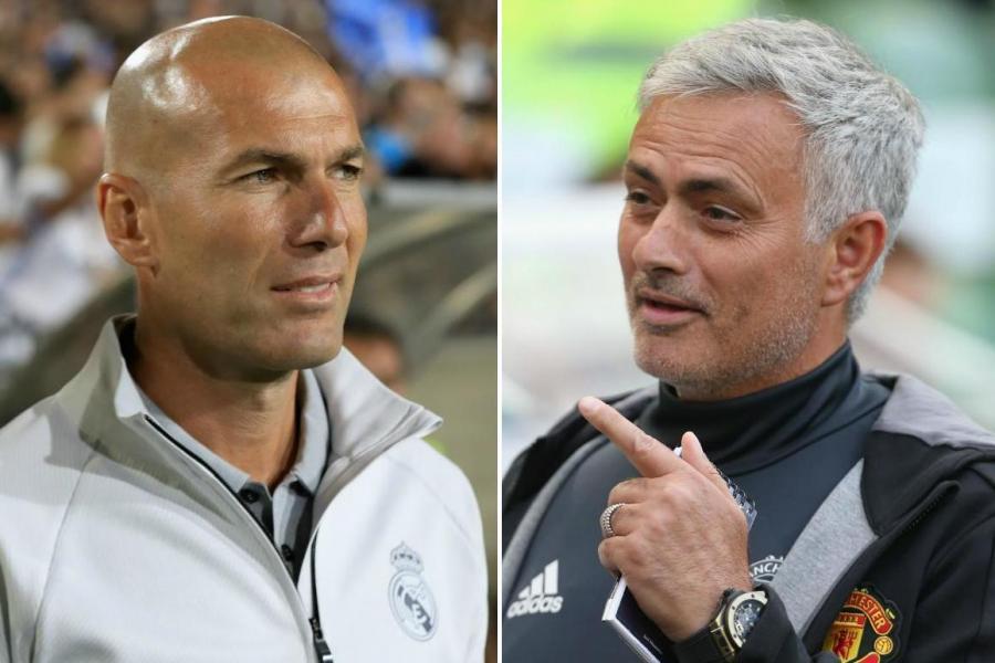 MU,Daniel James,Solskjaer,Real Madrid,Mourinho,Zinedine Zidane