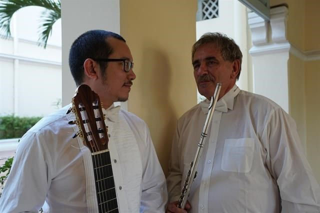 Duo to perform works by South American composers in Hanoi