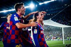 """Griezmann rực sáng, Barca thắng """"5 sao"""""""