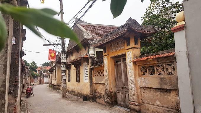 Sự thay đổi của ngôi làng cổ sau 100 năm bị hỏa hoạn