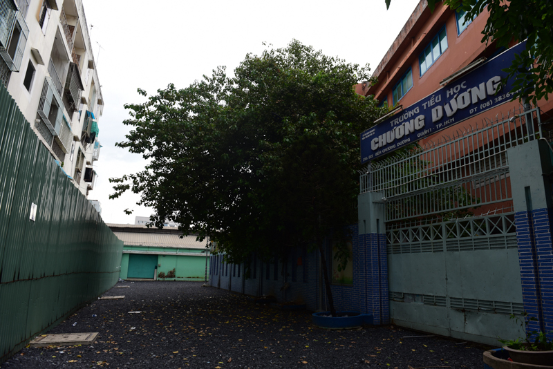 Cận cảnh chung cư nghiêng ở Sài Gòn bị đề nghị tháo dỡ khẩn cấp