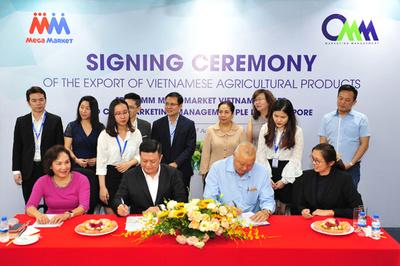 MM Mega Market Việt Nam sẽ xuất khẩu nông sản sang Singapore
