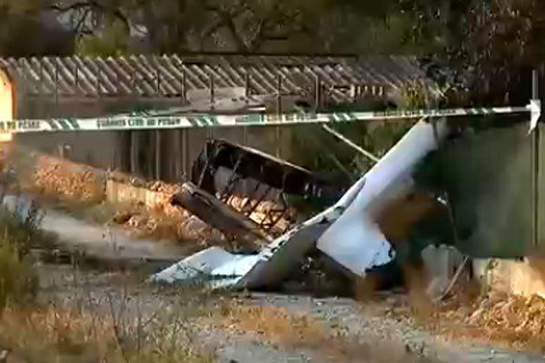 Máy bay đâm trực thăng giữa trời, 7 người tử nạn
