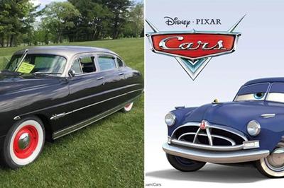Phim hoạt hình ô tô lấy nguyên mẫu ngoài đời từ những xe gì?