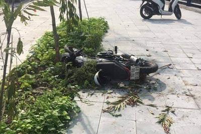 Lao xe tốc độ cao lên vỉa hè, nam sinh lớp 10 ở Quảng Ninh tử vong