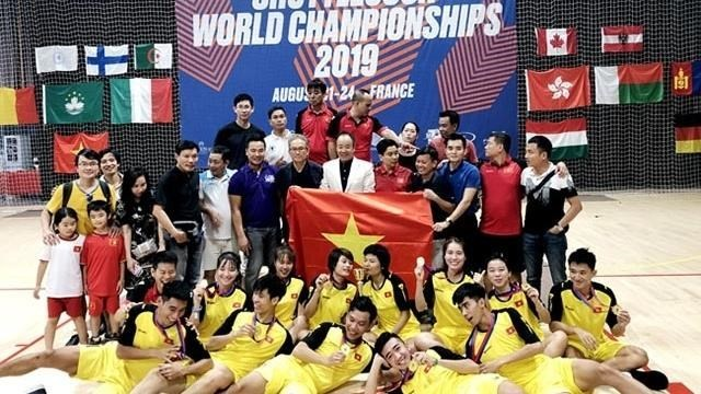 Vietnam comes first at World Shuttlecock Championship in France