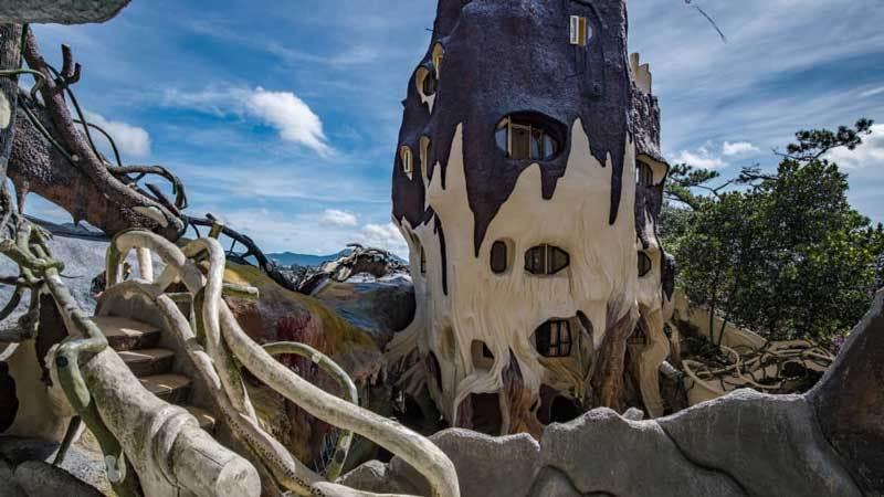 Đà Lạt,nhà ma,nhà quái dị,Crazy House