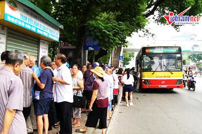 Cấp hàng nghìn thẻ xe buýt miễn phí dài hạn cho người nghèo, người cao tuổi