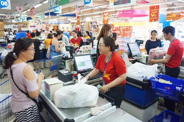Hàng nghìn sản phẩm giá '0 đồng' ở siêu thị Co.opmart