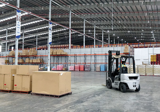 VN e-logistics sorting out supply