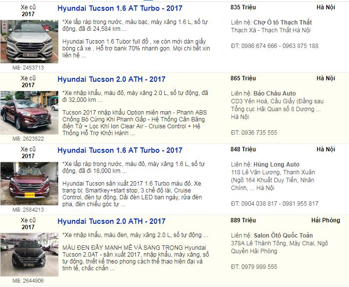 xe chạy lướt,thị trường ô tô cũ,ô tô cũ