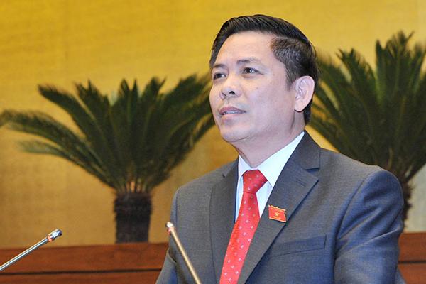 Bộ trưởng Giao thông,Nguyễn Văn Thể,nhân sự