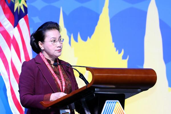 Chủ tịch Quốc hội,Nguyễn Thị Kim Ngân,biển đông