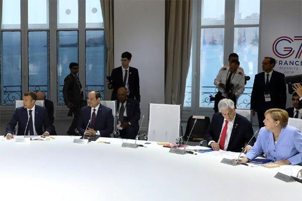 Thượng đỉnh G7 'nóng' chủ đề khí hậu, ông Trump bỏ họp