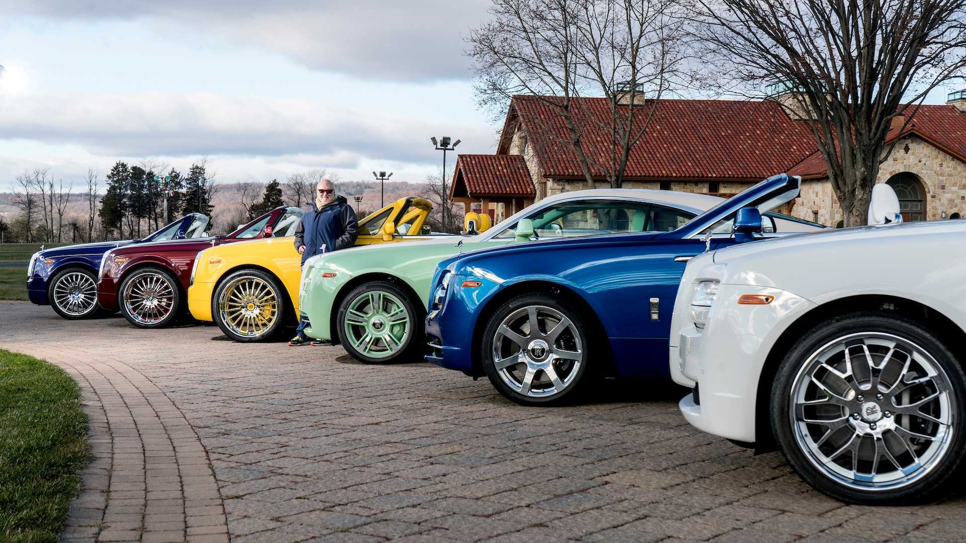 Rolls-Royce,xe sang