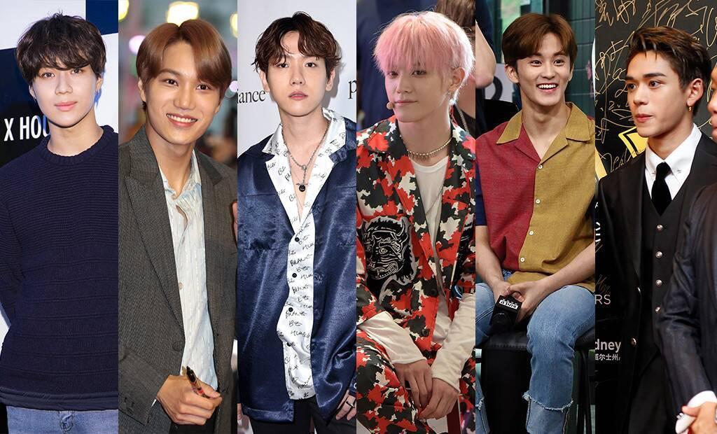 Sao Hàn,JYP,Produce 101 X,Running man,Baekhyun,Kai,Super Junior
