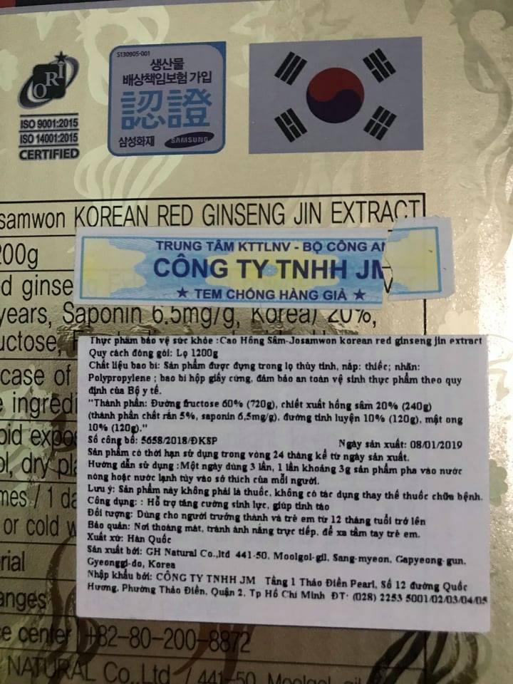 Chiêu trò bán hồng sâm Hàn Quốc với giá 'cắt cổ': Vị đắng hồng sâm!
