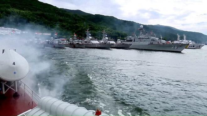 Tàu hộ vệ săn ngầm Pohang trong đội hình trực chiến của Lữ đoàn 172