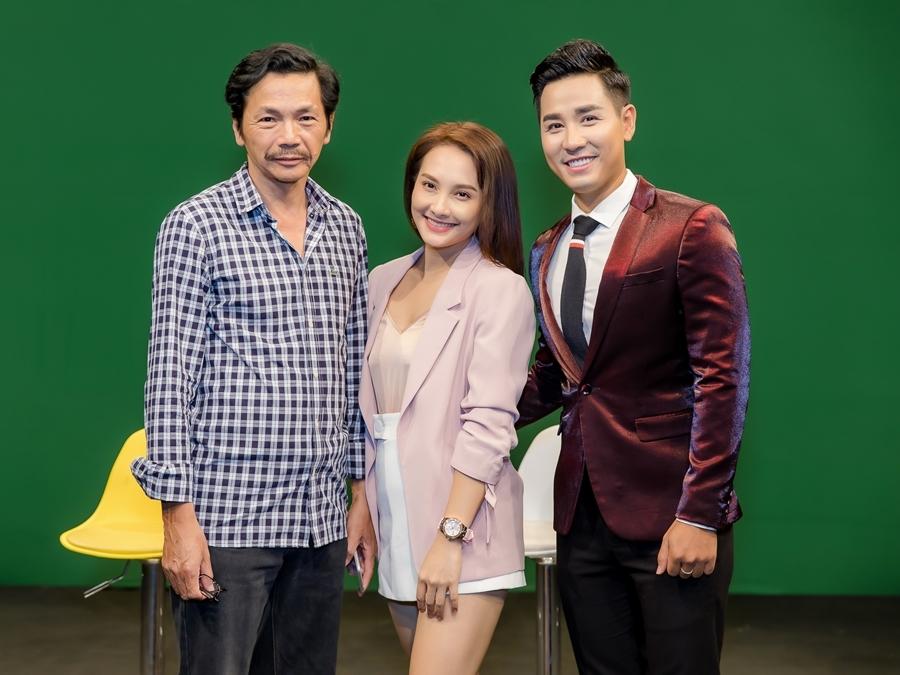 NSND Trung Anh: 'Đừng ai mơ tưởng tán tỉnh Bảo Thanh'
