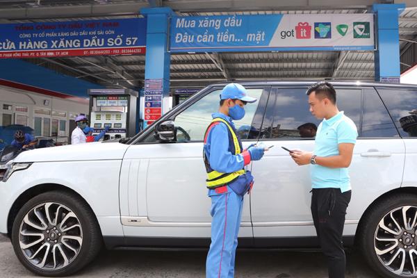PVOIL - mua xăng dầu thanh toán bằng ứng dụng điện thoại
