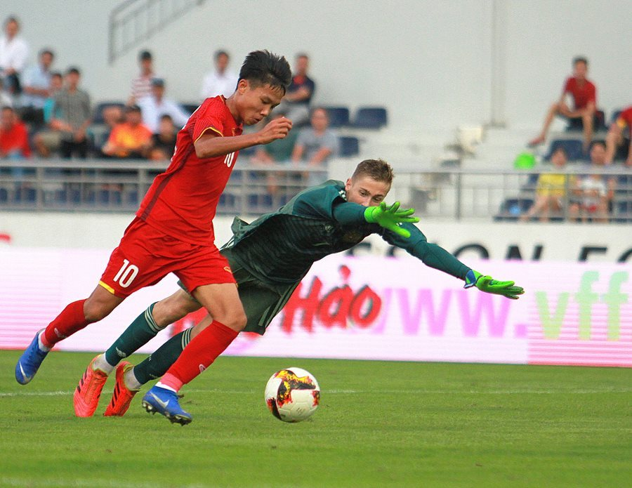 U15 Việt Nam gây bất ngờ khi đánh bại U15 Nga