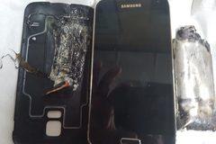 Điện thoại Galaxy phát nổ, nạn nhân bỏng mặt và tay