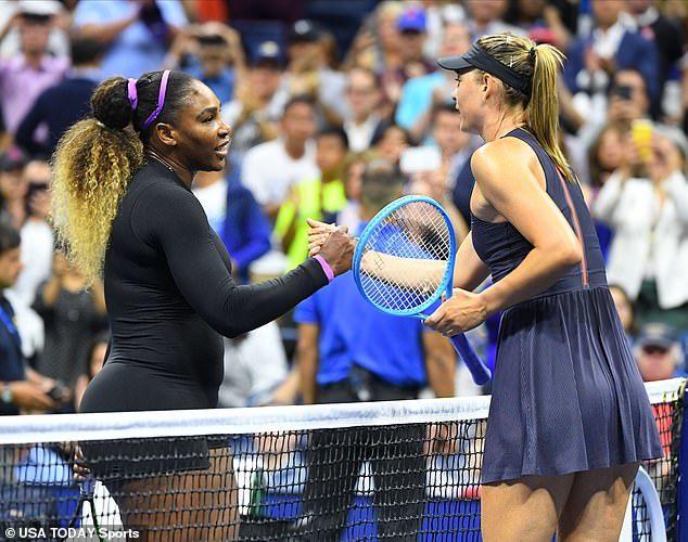 Sharapova thua thảm Serena ở vòng 1 US Open