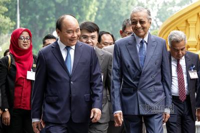 Lễ đón Thủ tướng Malaysia thăm chính thức Việt Nam