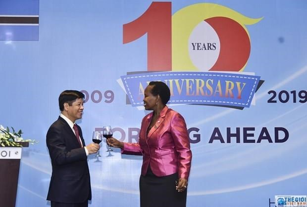 Vietnam, Botswana celebrate 10-year diplomatic relations