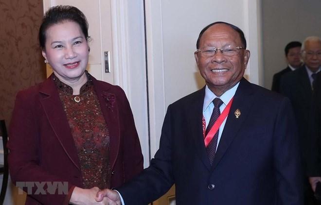 Nguyen Thi Kim Ngan,Samdech Heng Samrin,40th General Assembly of the ASEAN Inter-Parliamen,Vietnam politics news