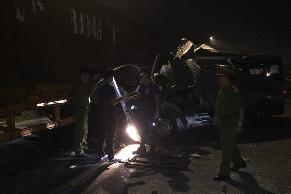 16 người bị thương sau tai nạn ở Hưng Yên, chuyển 200 đơn vị máu cấp cứu