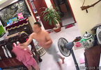Phẫn nộ cảnh chồng võ sư đánh vợ mới sinh con phải nhập viện