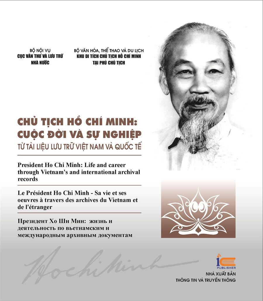 Ra mắt sách 'Chủ tịch Hồ Chí Minh: Cuộc đời và sự nghiệp' bằng 4 thứ tiếng
