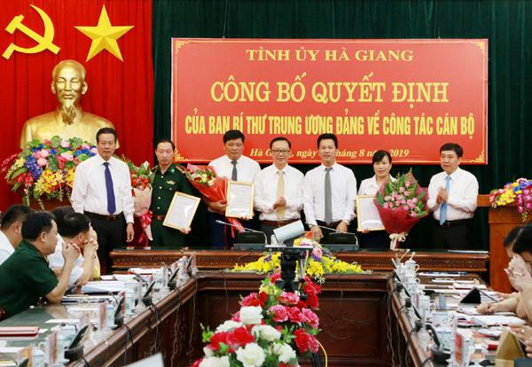 Ban Bí thư,bổ nhiệm,nhân sự,Đặng Quốc Khánh